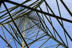 线路定向塔传输 图库摄影