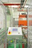线路控制的生产 免版税图库摄影