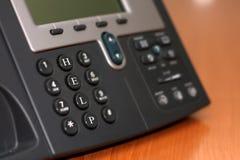 线路支持电话 免版税库存图片