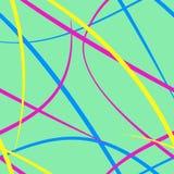 线路无缝的模式 库存例证