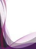 线路桃红色垂直的紫罗兰 免版税库存图片