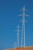 线路次幂定向塔传输 库存图片