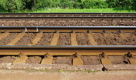 线路铁路 库存图片