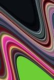 线路 五颜六色的创造性的桃红色银色黑线,嬉戏的背景 免版税库存图片