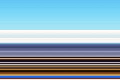 线路 蓝色金黄磷光性抽象背景,设计 免版税库存图片