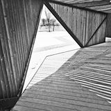 线建筑 免版税图库摄影