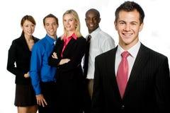 组专业人员 免版税库存图片