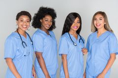组护士 免版税库存照片