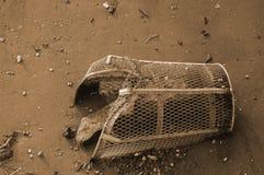 组织的污染 免版税库存照片