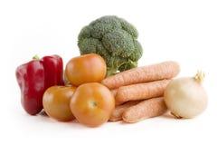组蔬菜 免版税库存图片