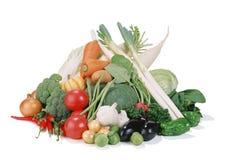 组蔬菜 免版税库存照片