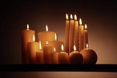 组蜡烛1 库存照片