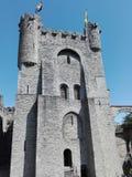 绅士城堡,富兰德,比利时 库存照片