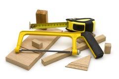 细木工技术工具 库存图片