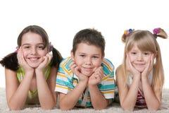 细致孩子位于 图库摄影