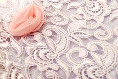 织品丝绸纹理 免版税库存图片
