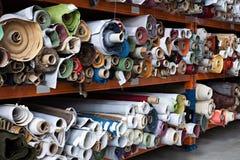 织品卷 免版税库存图片