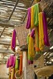织品摩洛哥存储纱线 免版税图库摄影