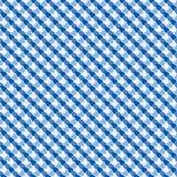 织品的,淡色相交的细胞无缝的样式  皇族释放例证