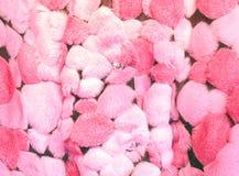 织品粉红色 免版税库存照片
