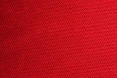 织品红色体育运动纹理 库存图片