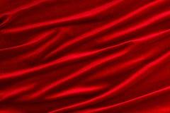 织品红色天鹅绒 免版税库存图片