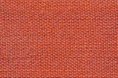 织品红色纹理 免版税图库摄影