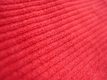 织品红色 库存图片
