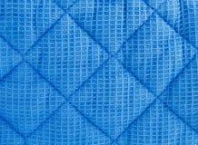 织品缝制的纹理 免版税库存照片