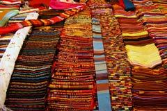 织品老挝产品 库存照片