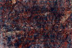织品老油漆污点 免版税库存照片