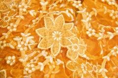 织品花卉模式 库存图片