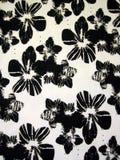 织品花卉白色 免版税库存图片