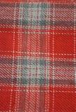 织品苏格兰人 库存照片