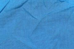 织品蓝色 库存照片