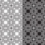 织品裱糊模式无缝的瓦片 库存图片