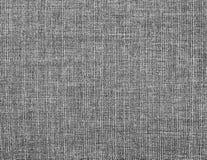 织地不很细灰色天然纤维背景  图库摄影