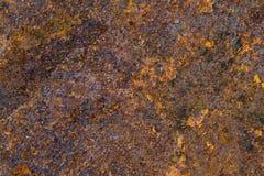 织地不很细背景的生锈的金属 免版税库存照片