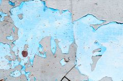 织地不很细金属脏的背景-粗砺的钢表面与削皮油漆的 库存照片