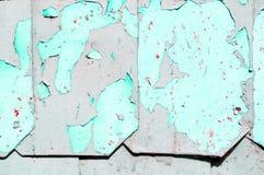 织地不很细金属脏的背景-粗砺的钢表面与削皮油漆的 图库摄影