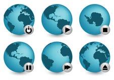 终止世界 免版税库存照片