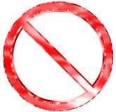终止 免版税库存图片
