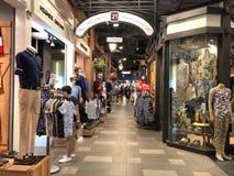 终端21购物中心在曼谷 库存照片