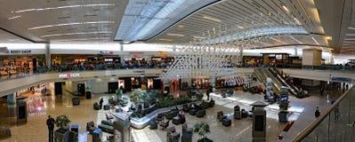 终端F在亚特兰大机场 免版税库存照片