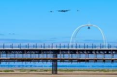 绍斯波特,英国2018年7月8日:提供Avro La的照片 库存照片