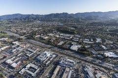 绍森欧克斯加利福尼亚101高速公路天线 库存图片