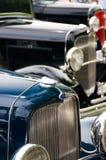 经典之作和葡萄酒汽车- 32福特跑车 库存图片