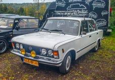 经典之作波兰汽车Polski菲亚特125p 免版税库存照片
