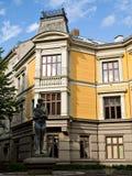 经典之作19世纪结构在奥斯陆 免版税库存图片