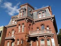 经典乔治城房子 库存照片